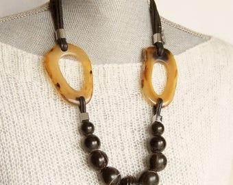 ELEGANT NECKLACE,modern jewelry,unusual necklace,edgy necklace,extravagant necklace,dramatic necklace,contemporary jewelry,edgy jewellery