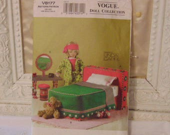 Vogue Doll Collection, Pattern, Doll Bed ,Room Furniture, Mattress Pattern,