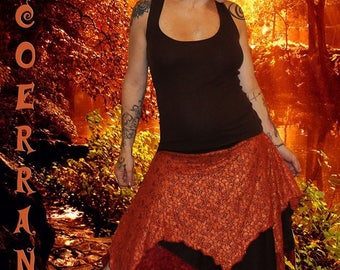 Asymmetrical skirt 'Lace life'