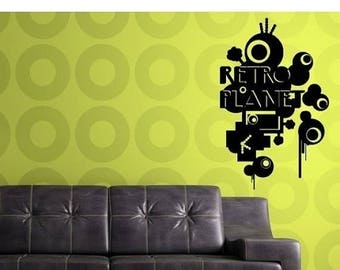 Planet Wall Decals Etsy - Locations where sell wall decals