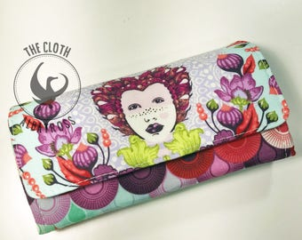 Queen Elizabeth Clutch Wallet