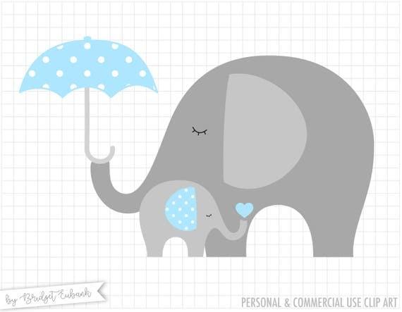 Baby Elephant Clip Art Baby Shower Elephant clip art Baby...