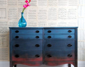 Ombre dresser-Refinished!!