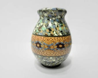 Gerbino Mosaic Vase - Signed