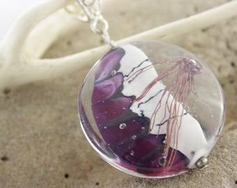 Totally handmade Lampwork Glass Bead