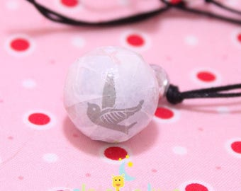 Genuine harmonyball pregnancy's Bola covered with a pastel pattern small birds