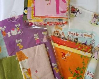 Heather Ross RARE OOP Fabric BUNDLES, Far Far Away 2, Nursery Versery, Crafty Chloe, Briar Rose, West Hill Included (49 Print Bundle)