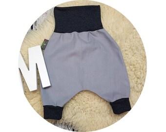 Baby pants, baby, Mitwachsen trousers, harem trousers, harem pants, corduroy pants, pants,