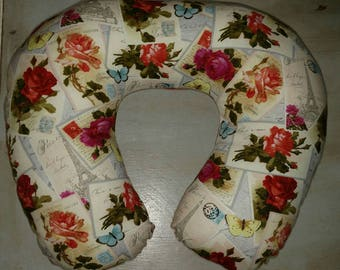 Paris Theme Neck Pillow