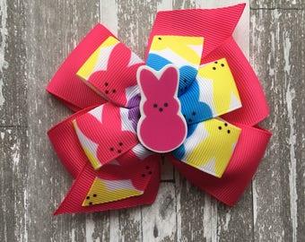 Easter Hair Bow - Easter Bow -Easter Egg Hair Bow - Easter Egg Bow - Happy Easter - Easter Shirt - Easter Outfit