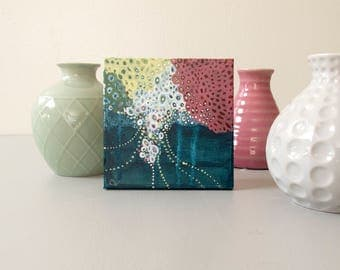Thirty One: Small Abstract Painting