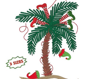 Tree Elves in Palm tree