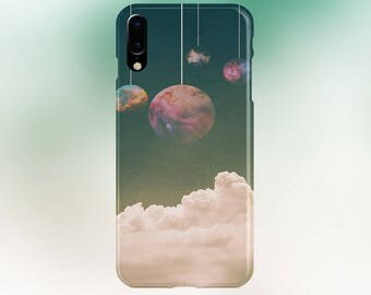 Hanging Planets Case for iPhone 8 6 Plus iPhone X  Samsung Galaxy s8 edge s6 and Note 8  S8 Plus Phone Case, Google Pixel 2
