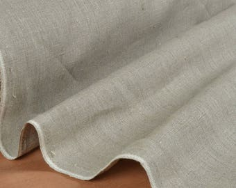 """""""Naturally linen"""" 100% linen fabric sold in multiples of 10cm"""