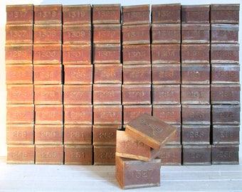 Vintage English Tea Tins, Vintage English Tea Blenders Sample Tins, Industrial Decor, Kitchen Storage, Shop Decor, Interior Design, Old Tins