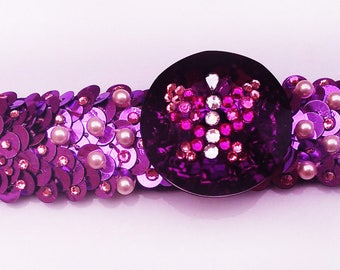 "Fuchsia Collection ""A butterfly love"" bracelet"