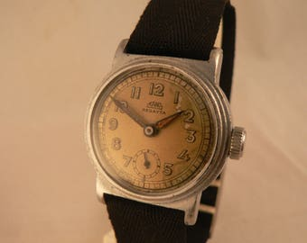Vintage Kano Regatta Waterproof Wrist Watch 15J Bauhaus Germany Ca 1930's
