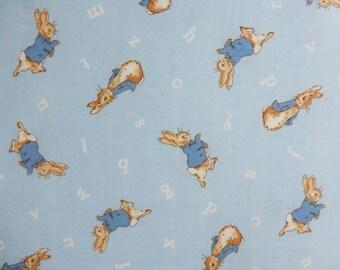BY THE YARD, Beatrix Potter Fabric, Beatrix Potter Fabric Panel, Peter Rabbit Fabric, Peter Rabbit Panel, Beatrix Potter, Peter Rabbit