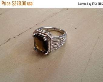 Holiday SALE 85 % OFF Smoky Topaz Size 6 Ring Gemstone. 925 Sterling  Silver  Etsy Gift Sale