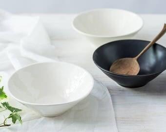 Holiday SALE 15% Off Dragonfly Ceramic Serving Bowls Set