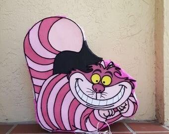 Amazing cheshire cat  inspired  Alice in wonderland Pinata party !!!!!