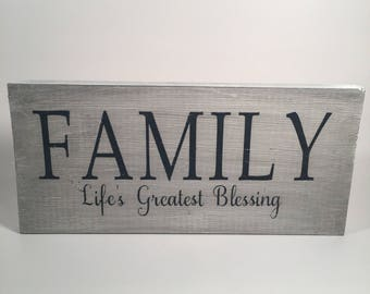 Family-life's greatest blessing