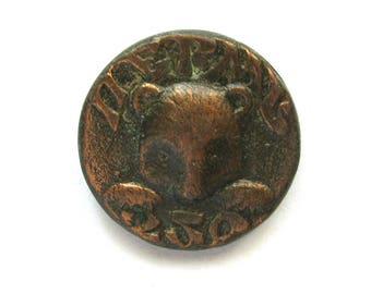 SALE, Perm, 250 years, Soviet badge, Bear, Animal, Vintage collectible badge, Soviet Vintage Pin, USSR, 1980s