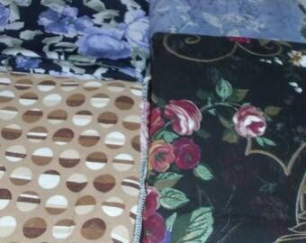 DRESSMAKING FABRIC - Fashion Fabrics / 20 Yards Total  / One Lot of Fabric / Designer Fabric / Fashion and Lingerie Fabric
