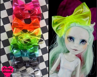 Monster doll HAIR BOW High Fashion Ever After Blythe Pullip doll Super Hero