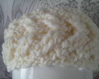 Headband, crochet , earmuff , winter wear , girls hat , girls headband , ski fashion , winter fashion , crochet cable headband , toddlers