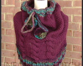 Cowl Hooded Cabled Hooded Cowl Cabled Cowl