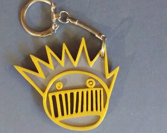 Boognish keychain charm <J>