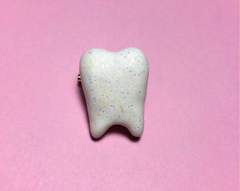 Tiny Tooth pinback