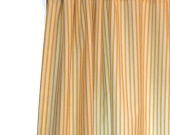 Striped Curtains Etsy