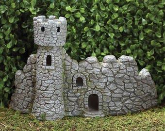 Fairy garden, fairy castle, fairy tale castle, miniature castle, miniature garden, small castle, fairy garden castle