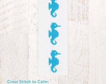 Cross Stitch to Calm: Seahorses Cross Stitch Chart Download (804250)