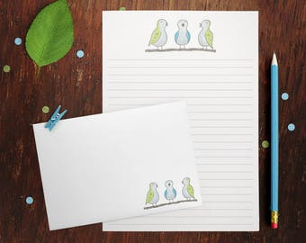 Chatty Birds Letter Writing Set