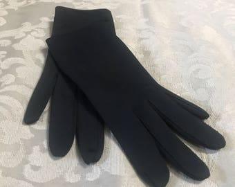 Vintage Evening Gloves, Black Gloves, Vintage Black Gloves, Formal Gloves, Women's Gloves, Black Evening Gloves, Black Formal Gloves