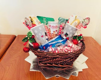 LET IS SNOW! Holiday Hot Chocolate Gift Basket