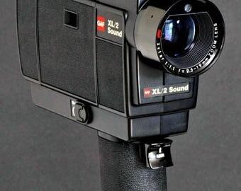 GAF 3M Super 8 XL/2 Sound S8 Movie Camera w f/1.1 Zoom Lens New In Box PrISTINE !
