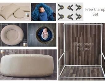 Reduced! Newborn Poser, Newborn Frame, Nest Poser, Posing Pillows, Free Clamp Set