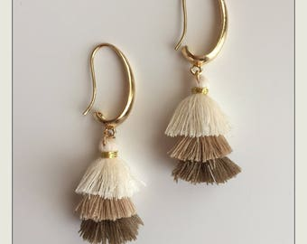 Nappa Earrings