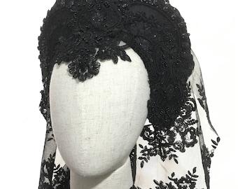 CUSTOM ORDER - Kokoshnik headdress gothic tiara