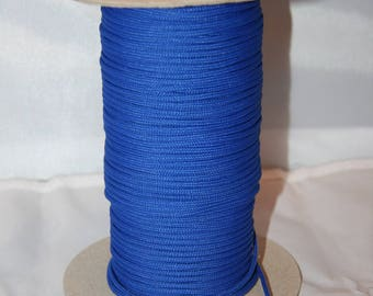 Polyester thread 2 mm blue
