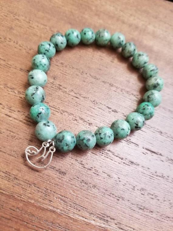 Renew: Reiki Attuned Lotus Jasper Healing Bracelet