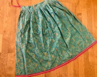 Beautiful Turquoise Skirt