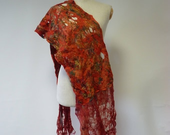 The hot price. Boho delicate mohair scarf, perfect for gift.