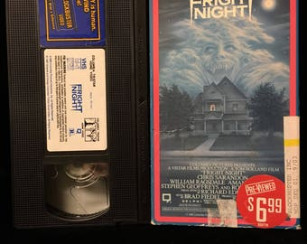 Fright Night VHS