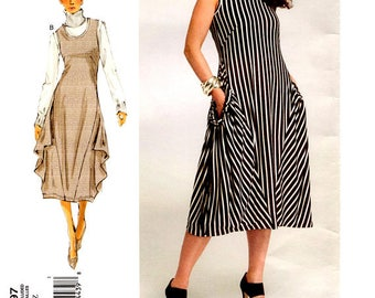 Vogue V1297 Today's Fit By Sandra Betzina  Easy Facile Dress Pattern Sewing Patterns OSZ