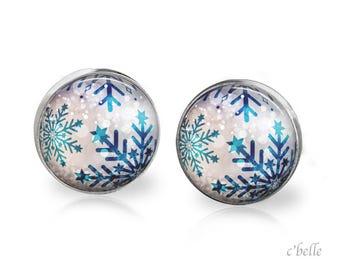 Christmas Earrings Winter-42